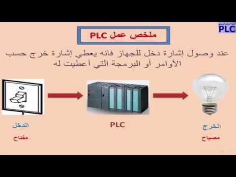 الدرس الأول: مقدمة عن PLC وتعريفه وملخص عمله