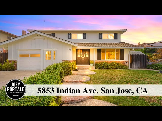 5853 Indian Ave. San Jose, CA 95123 presented by Joey Portale