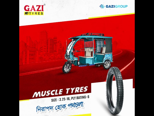 Gazi Easy Bike Tyres