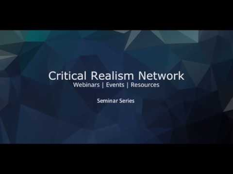 Causation, structure and the case for critical realism - Dr. Timothy Rutzou