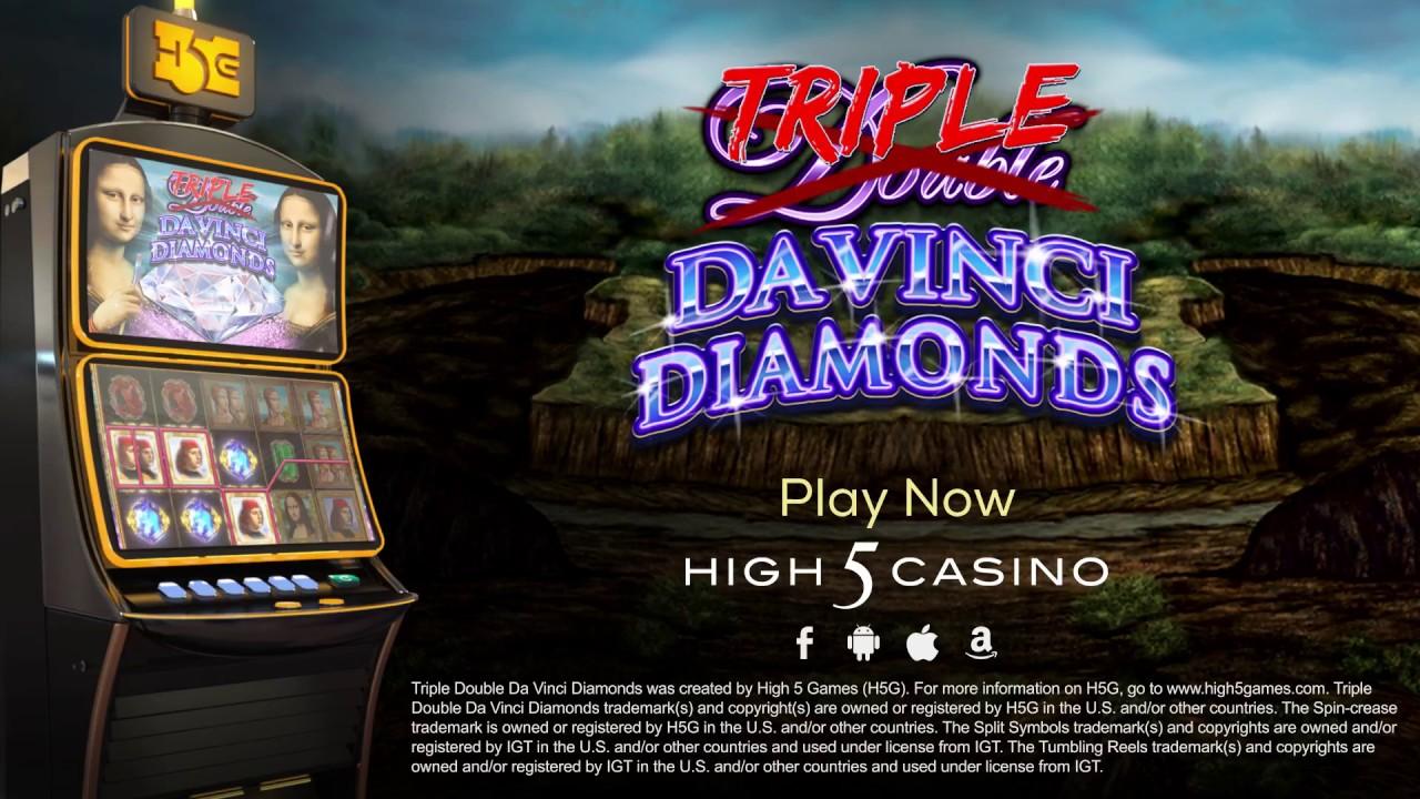 Triple Double Davinci Diamond High 5 Games Youtube
