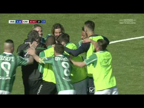 Avellino - Carpi 1 - 0  Perrotta