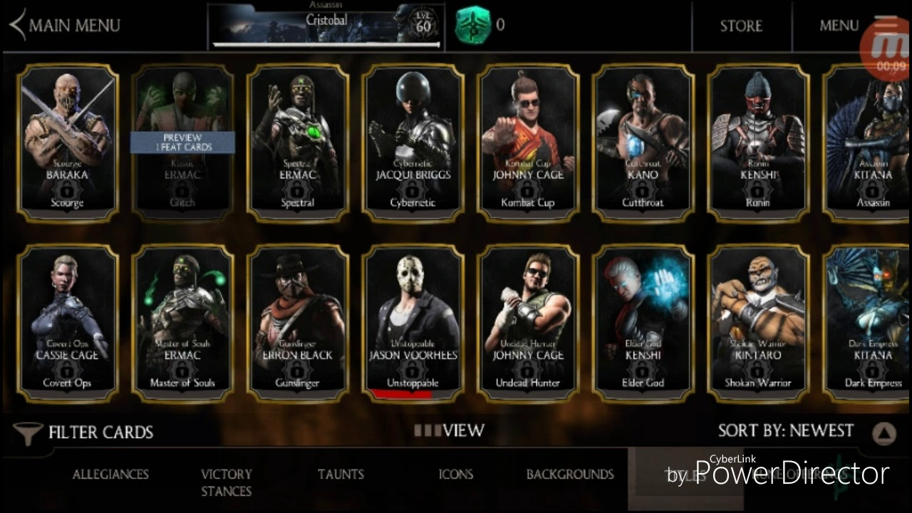 MKX Mobile Feats of Strength
