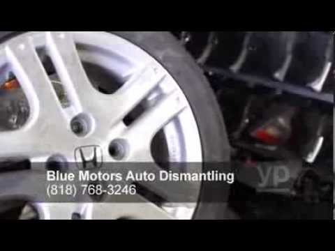 blue motors auto dismantling honda acura youtube