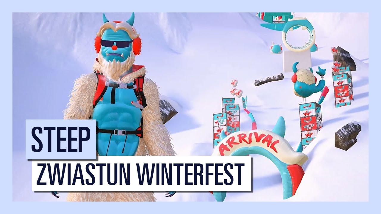 STEEP – Zwiastun Winterfest