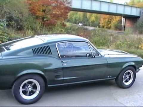 Bullitt Car Chase Returns, McQueen Bullitt Mustang GT Fastback