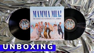 Mamma Mia! The Movie Soundtrack Featuring The Songs Of ABBA Vinyl | Unboxing