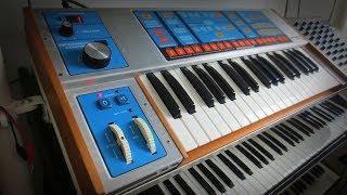 Moog Source Analog Synthesizer (1981) *Twenty Sounds*