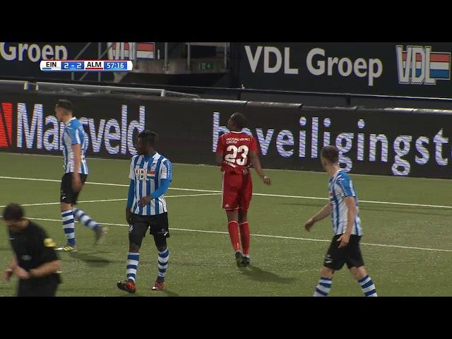 Samenvatting: FC Eindhoven - Almere City FC (3-2)