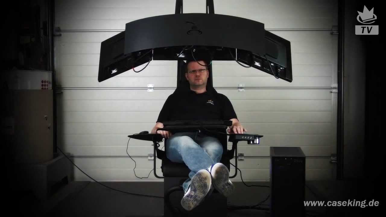 Emperor Gaming Chair >> Emperor Chair Gaming System - YouTube