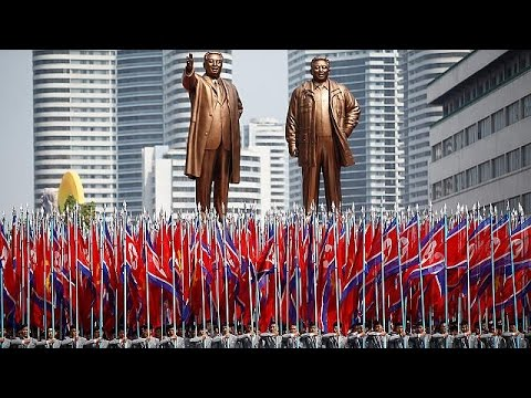 North Korea show of strength as US tensions rise