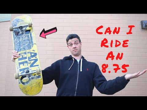 Can I Ride An 8.75