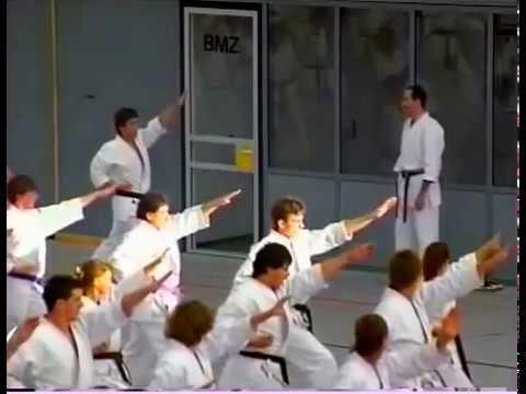 Kanazawa shihan Shotokan karate seminar in Europe - Семинар Хироказу Канадзавы по Шотокан