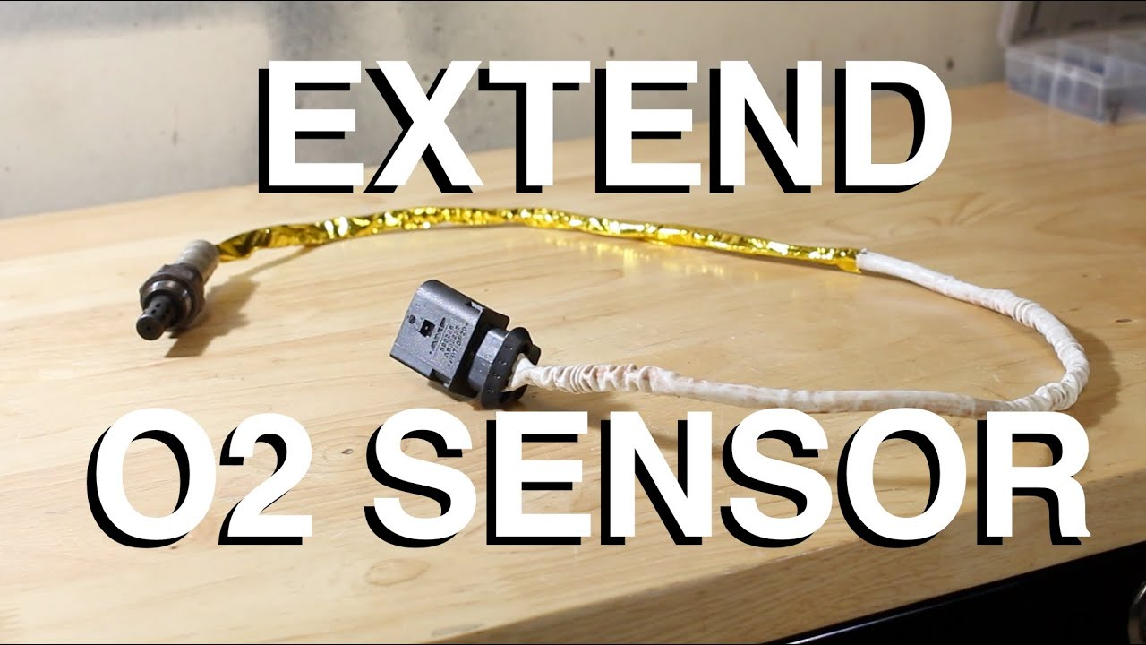 maxresdefault how to extend oxygen sensor wires youtube O2 Sensor Wire Length at creativeand.co