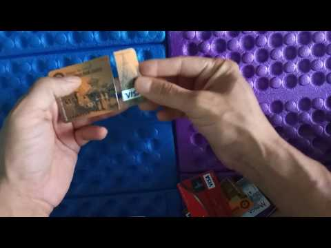 Fragile Visa CARD from Himalayan Bank   झुर कार्ड