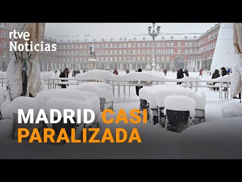 Madrid SUSPENDE LAS CLASES hasta el martes y se pide a los madrileños NO SALIR A LA CALLE | RTVE
