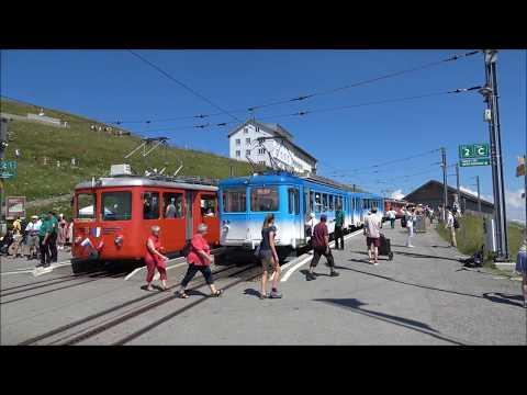 Mount Rigi: Ascent by train from Vitznau, Switzerland