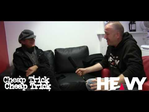 Cheap Trick (Tom Petersson) Interview 2017   HEAVY TV
