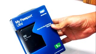 WD My Passport Ultra External Hard Drive (Black) Unboxing & Review (INDIA)
