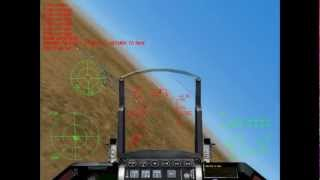 Game F-16 Aggressor - Rift Valey Mission # 5 Nip in The Bud. HD