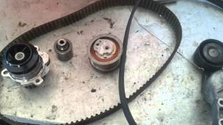 Golf mk4 1.9 TDI timing belt and water pump replacement