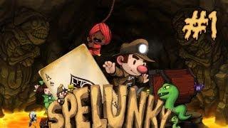 Gameplay | Spelunky HD - EP.1 - Empieza la aventura