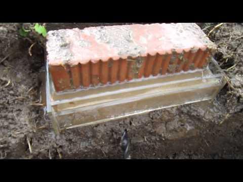 видео: Песчанная подушка под фундамент