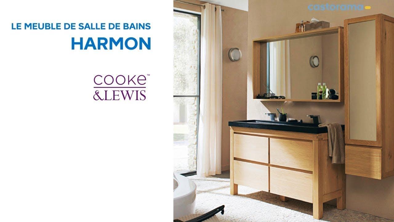 Meuble de salle de bains harmon cooke lewis castorama - Meuble salle de bain teck castorama ...
