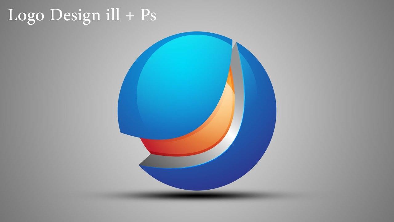 Illustrator Tutorial | 3D Logo Design | in Hindi / Urdu ...