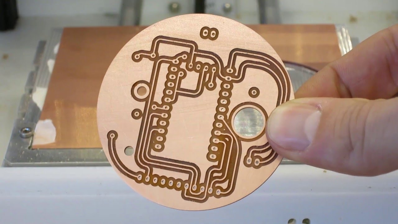 Electronic Circuit Design One Sided Copper Clad