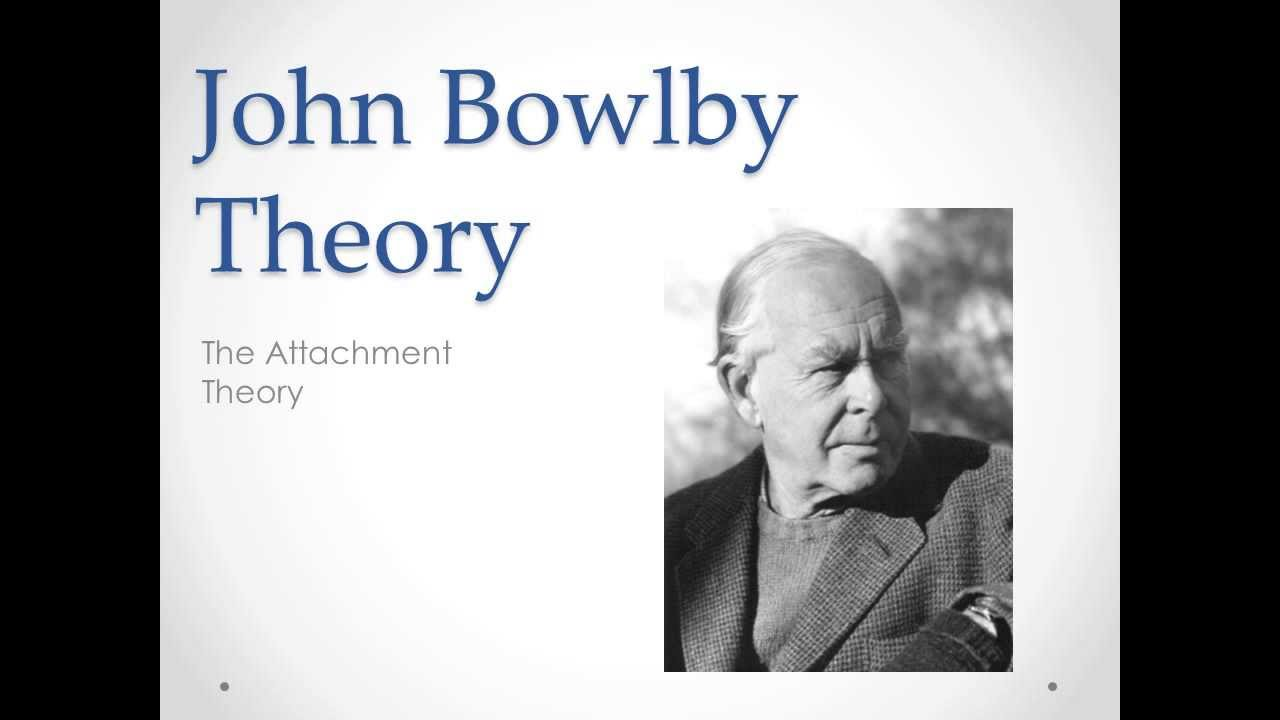 attachment theory by john bowlby and Bowlby's attachment theory explains why we may feel happy, sad, withdrawn or we may have a mixture of these emotions in the presence or absence of another person.