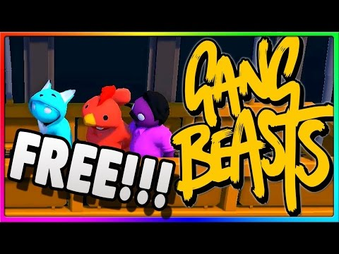 HOW TO GET GANG BEAST FOR FREE!!! 2016-2017