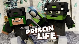 Minecraft Prison Life 2 - BREAKING INTO THE BANK!