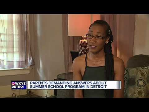 Parents demanding answers about summer school program in Detroit