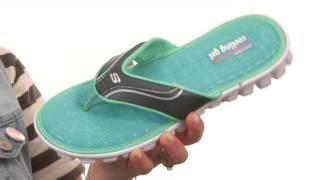 SKECHERS Sport Cooling Gel 1 Strap Thong Sandal SKU:#8291907