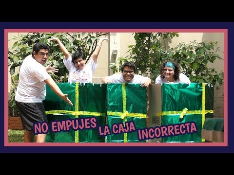 NO EMPUJES LA CAJA INCORRECTA EDICIÓN NAVIDEÑA - Ariana Bolo Arce