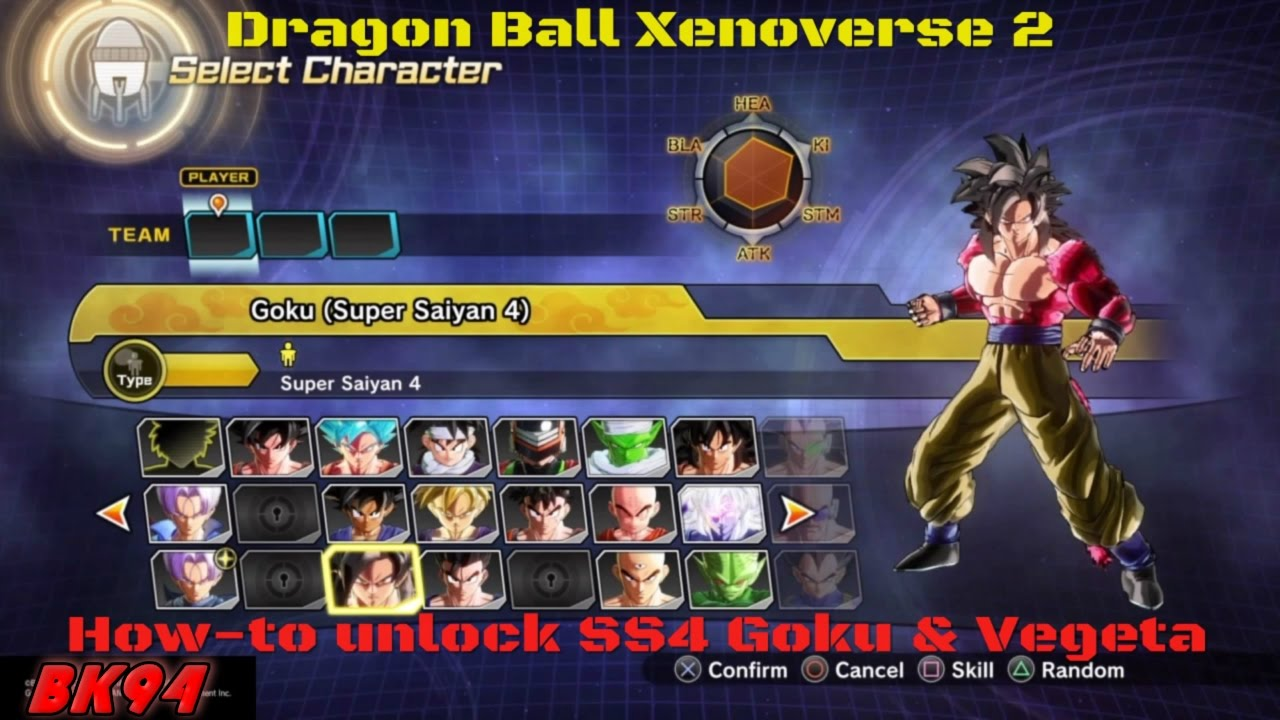 How to unlock super saiyan 4 goku super saiyan 4 vegeta - Dragon ball xenoverse ss4 vegeta ...