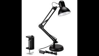 PowerKing Architect Task Lamp Swing Arm Desk Lamp