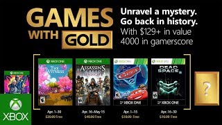 Xbox   April 2018 Games With Gold