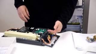 видео Трехфазные проточные водонагреватели (380В)