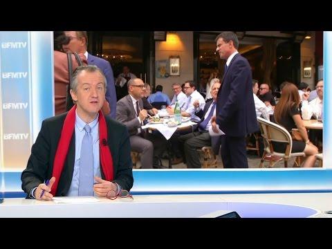 """ÉDITO – """"Manuel Valls est plus réduit à son passé qu'à son présent de pseudo marcheur"""""""