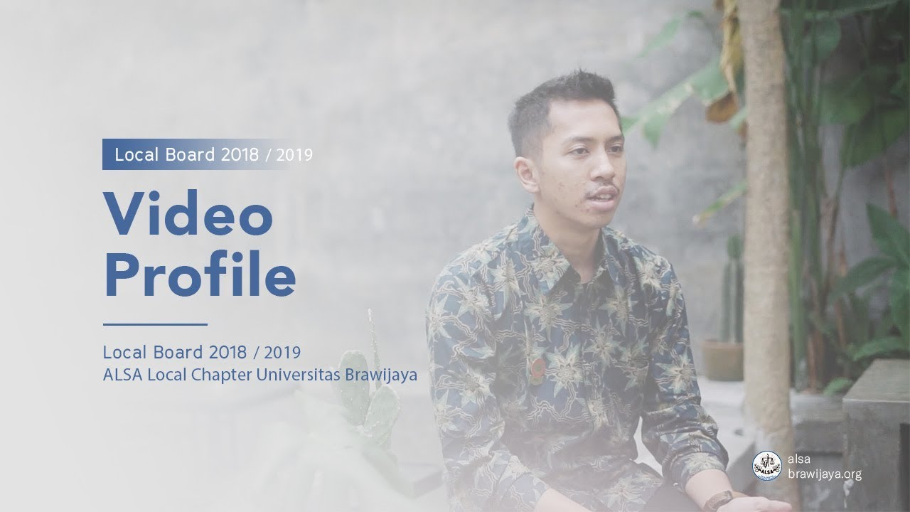 ALSA LC UB : Video Profile 2018 / 2019
