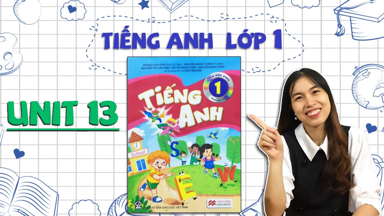 Học tiếng Anh lớp 1 – Unit 13. In the school canteen – THAKI