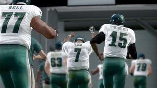 Madden 13 Connected Careers - The Life of a Second String QB   I Catch Balls!   My New CCM Online