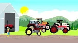 The Farmer Story | Farm Work - Fairy Tractors | Silage For Cows
