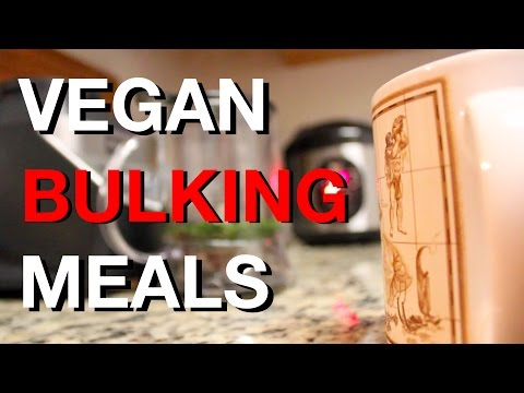 Vegan Bodybuilding Full Day of Eating FOR BULKING | 3,600 CALS