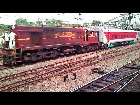 WDS-6 Loco in operation near Howrah- Indian Railways