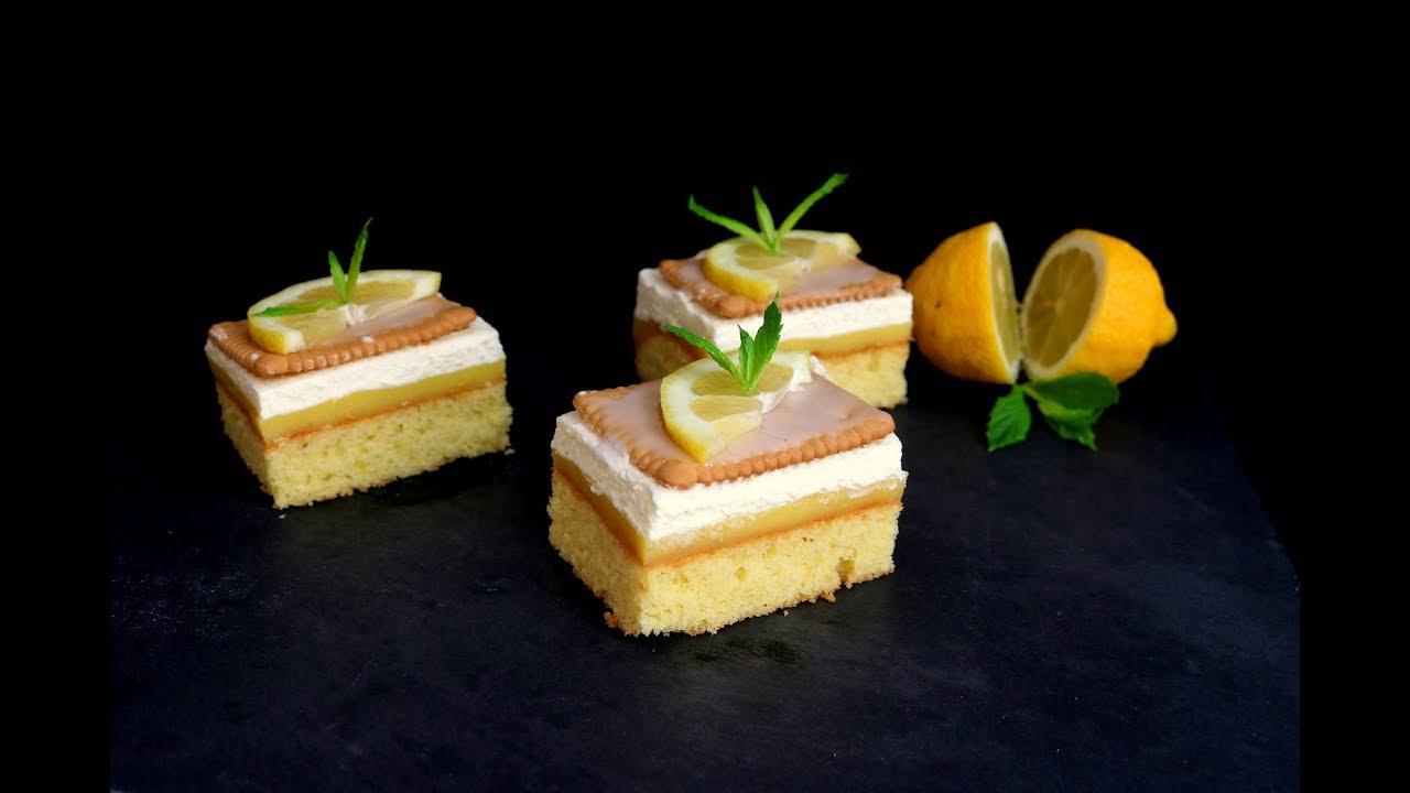 Butterkekskuchen Mit Zitronen I Badem Delights Youtube