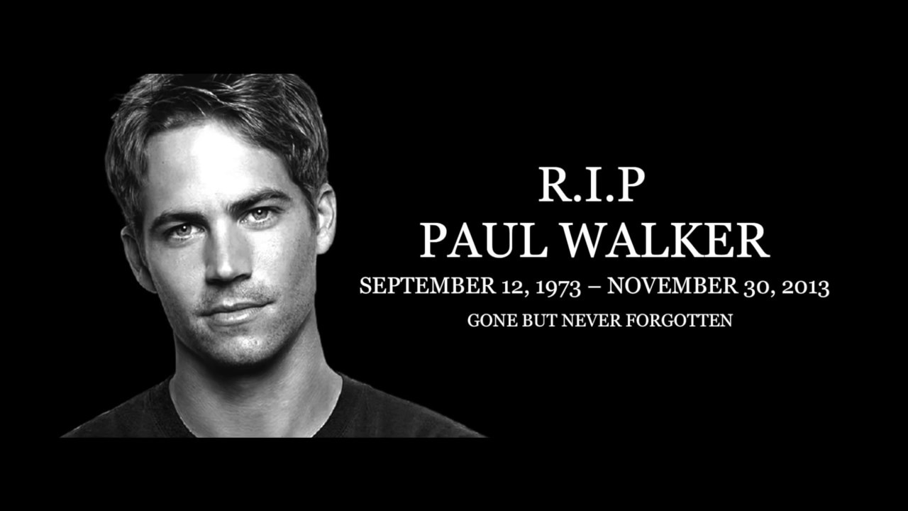Best Paul Walker Tribute