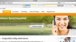 Weltweit unglaublich billig telefonieren mit DCalling